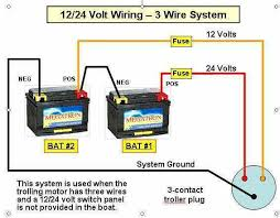 fuse for trolling motor the hull truth boating and fishing forum 12 volt trolling motor wiring diagram at 4 Wire 24 Volt Trolling Motor Wiring Diagram
