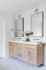NorCal Farmhouse   Lindye Galloway Studio in 2020   Oak bathroom vanity,  Bathrooms remodel, Bathroom farmhouse style