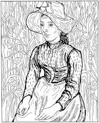 Kleurplaten En Zo Kleurplaten Van Vincent Van Gogh