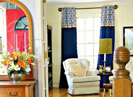 No Sew Home Office Window Curtains