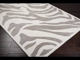 zebra print rug26 zebra