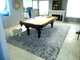 pool table rug area rugs info pertaining to ideas under best for home design in remodel