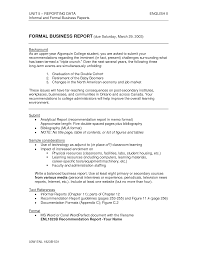 Sample Business Report Sample Business Reports For Students Complete Report Writing Format 18
