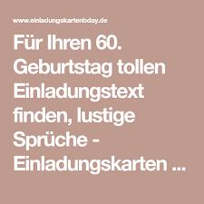 Lustige Spr He Zum 60 Geburtstag Mann Spruchwebsite