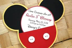 Diy Mickey Mouse Invitation Template Free Printable Invitations ...