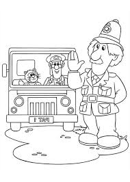 Small Picture Arthur Shelby Say Hi To Postman Pat Coloring Pages Bulk Color