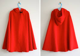 red hooded cape unique diy little riding hood of 13