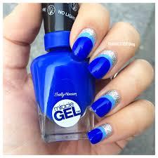 How To Use Sally Hansen No Light Gel Polish Mani Of The Week Sally Hansen Miracle Gel Nail Art Tutorial