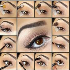 image result for eye makeup ideas for over 40s brown eyes