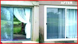 double pane insulated glass replacement how to replace in a cost patio door i