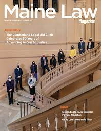 maine law magazine features the 50th
