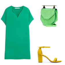 5 Fresh Summer Outfits With Bright Color Combinations | Glamour
