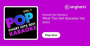 Chart Hits 2011 Karaoke Star Explosion What The Hell Karaoke Version