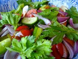 fresh garden salad. Modren Fresh Fresh And Healthy Garden Salad Authentic Italian Style Dressing In Fresh Garden Salad H