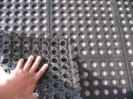 anti slip interlocking anti fatigue boat rubber floor carpet