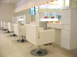 best lighting for a salon. Perimeter Lighting Around The Mirror Prevents Shadows Best For A Salon