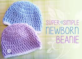 Crochet Newborn Hat Pattern