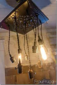 how to make a bare bulb chandelier edison light testing connection fixture
