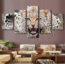printable decor animal print canvas wall art not framed cheetah white picture images wooden media board safari