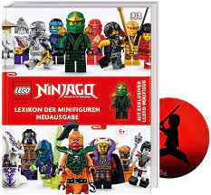 Buchspielbox Lego NINJAGO Lexikon der Minifiguren mit exklusiver  Lloyd-Minifigur + Ninja Sticker, Nachschlagewerk ab 6 Jahren: Amazon.de:  Spielzeug
