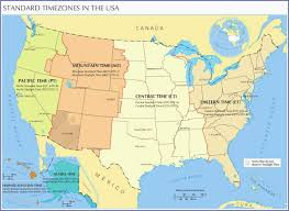 Indiana Time Zone Map Unique B Time B B Zone B Map Of The B United