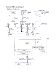 Dlc and mil circuits electrical schematic l4 2006