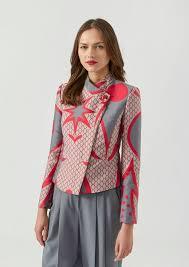 Patterned Blazer Womens Adorable Women's Jackets Blazers Emporio Armani