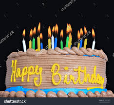 Backgroun Wall Images Of Happy Birthday Cakes With Candles