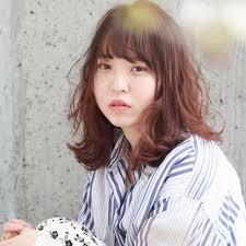 ヘアアレンジ デート パーマ ミディアムgrowth Kenta Ushirono 461533