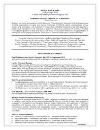 Prepossessing Hr Generalist Resume Sample Download Also Hr Resume