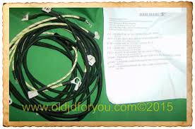 john deere 2 cyl tractor oldjdforyou parts john deere h complete john deere h complete wiring harness <p>made in
