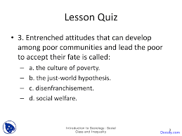 social class and inequality basics of sociology quiz docsity this is only a preview