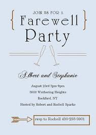 Farewell Party Invitation - Kawaiitheo.Com