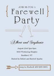 Farewell Party Invitation - Kawaiitheo.Com