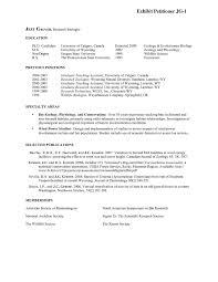 Sample Wildlife Biologist Resume Biology Resume Examples Sample Wildlife Biologist Resume Top 24 1