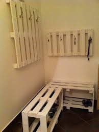 Coat Hanger And Shoe Rack Best Coat Hanger Shoe Rack Recycled Pallets Ideas Projects