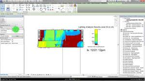 autodesk revit da daylight simulation with custom date time with light ysis illuminance lux you