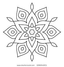 Mandela Coloring Pages Easy Printable Mandala Coloring Pages Simple