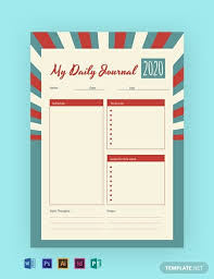 Journal Templates 14 Free Notebook Journal Templates Pdf Word Psd
