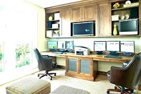 Home office for 2 Build In Person Workstations Home Office Person Desk Home Office Renovation Home Furniture Person Corner Desk For Home Office Thesynergistsorg Person Workstations Home Office Person Desk Home Office Renovation