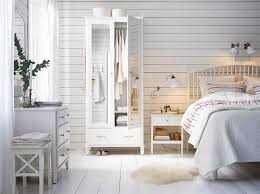 ikea white bedroom furniture. A Large Country Style Bedroom With Wardrobe Mirror Doors, Chest Of Drawers Ikea White Furniture