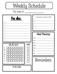 Teacher Weekly Planners Personal Weekly Planner By Colleen Zehr Teachers Pay Teachers
