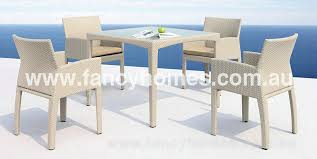 outdoor table and chairs sydney. lubang - wicker outdoor dining set table + 4 chairs and sydney