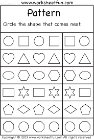 Pattern Worksheet Best Decorating Ideas