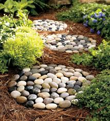 River Rock 3 Piece Stepping Stones Set