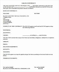 Download our free sales contract template. Simple Real Estate Contract Awesome Simple Sales Contract Sample 10 Examples In Word Pdf Real Estate Contract Consent Letter Sample Contract