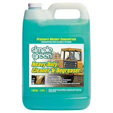 Heavy-Duty Cleaner and Degreaser Pressure Washer Concentrate