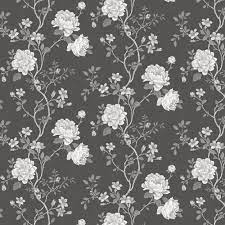 Floral Trail by Galerie - Charcoal ...
