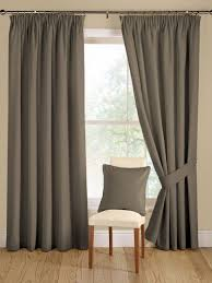 interior fascinating grey curtain color design with cream wall color and wooden flooring ideas curtain