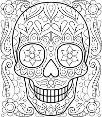 Small Picture Adult coloring pages skull art ColoringStar